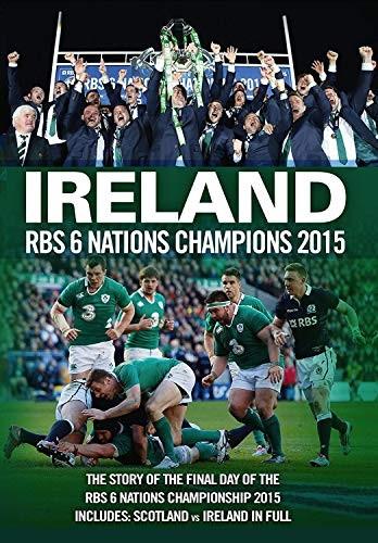 Ireland RBS 6 Nations Champions 2015 [DVD] Good PAL Region 2 5037899053669